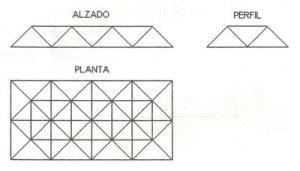 Diseño estructura piramidal